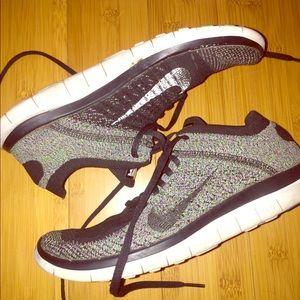 Nike free run size 8